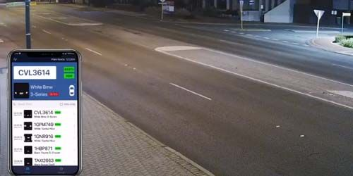 Smart camera at the intersection -  live webcam , Western Australia Perth
