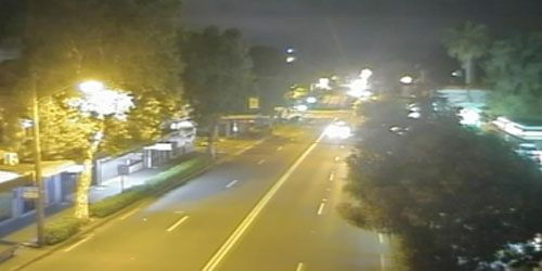 Cleveland Street at Crown Street -  live webcam , New South Wales Sydney
