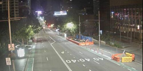 William Street and College Street -  live webcam , New South Wales Sydney