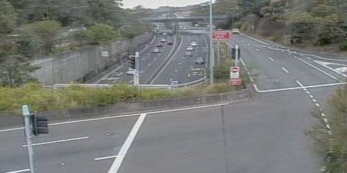 Gore Hill Freeway at Artarmon -  live webcam , New South Wales Sydney