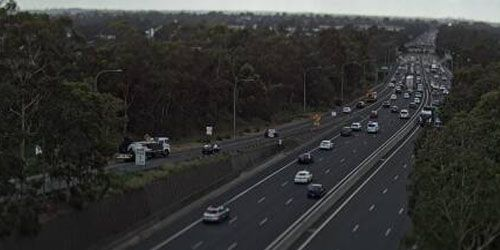 M5 at Hume Highway -  live webcam , New South Wales Sydney