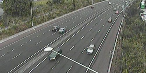 A nord lungo South Western Mwy da May Rd -  Webcam , Auckland Auckland
