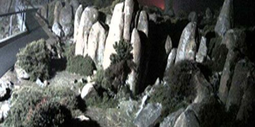 Mount Wellington and walking tourists cam 1 -  live webcam , Tasmania Hobart