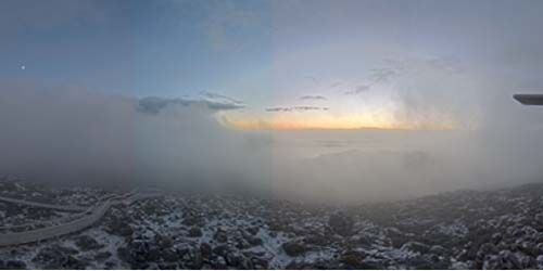 Mount Wellington and walking tourists cam 2 -  live webcam , Tasmania Hobart