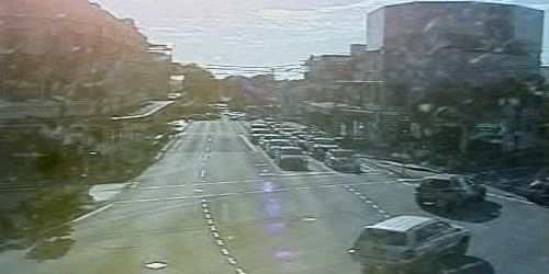 Falcon Street and the Pacific Highway -  live webcam , New South Wales Sydney