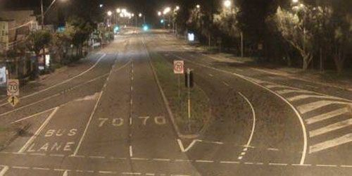 Pittwater Road at Wakehurst Parkway -  live webcam , New South Wales Sydney