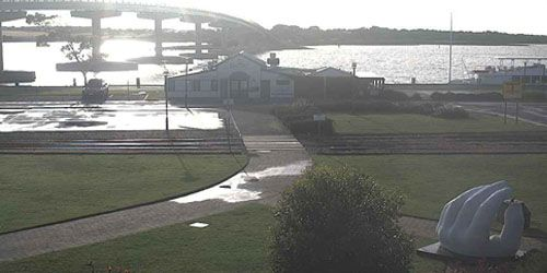 Port Elliot Goolwa Wharf -  live webcam , South Australia Adelaide