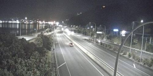 Interscambio SH1 / SH2 in direzione sud -  Webcam , Northland Wellington