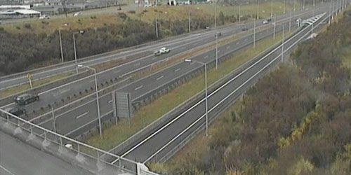 South along The Way from Wainui Rd -  live webcam , Auckland Auckland