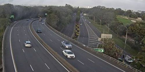 Southern Cross Drive at Wentworth Avenue -  live webcam , New South Wales Sydney